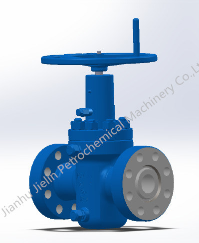 API 6A Expanding Gate Valves for Wellhead