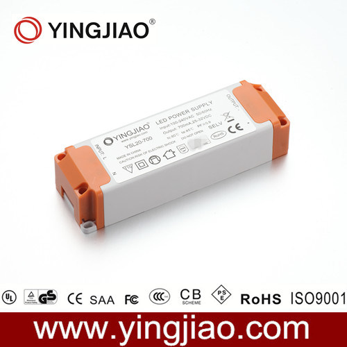 20W 3A AC DC LED Power Supply with CE