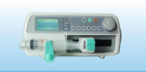 Stackable Syringe Pump with CE