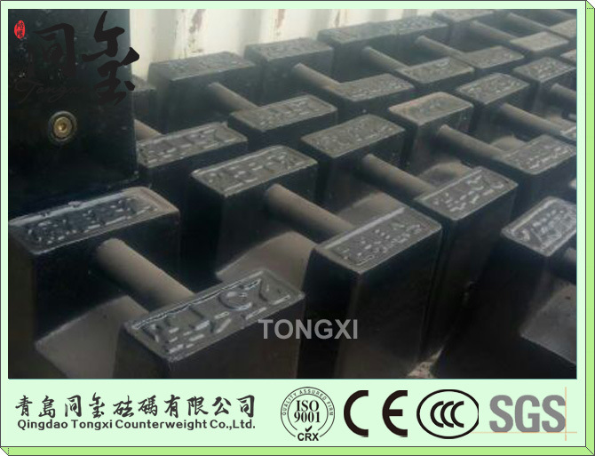 M1 50kg Cast Iron Test Weight M1 50kg Grip Handle Iron Weights
