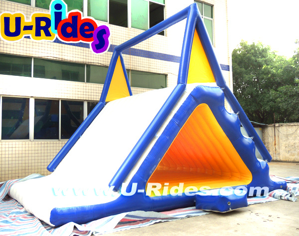 Inflatable water slide for float water park water sports game