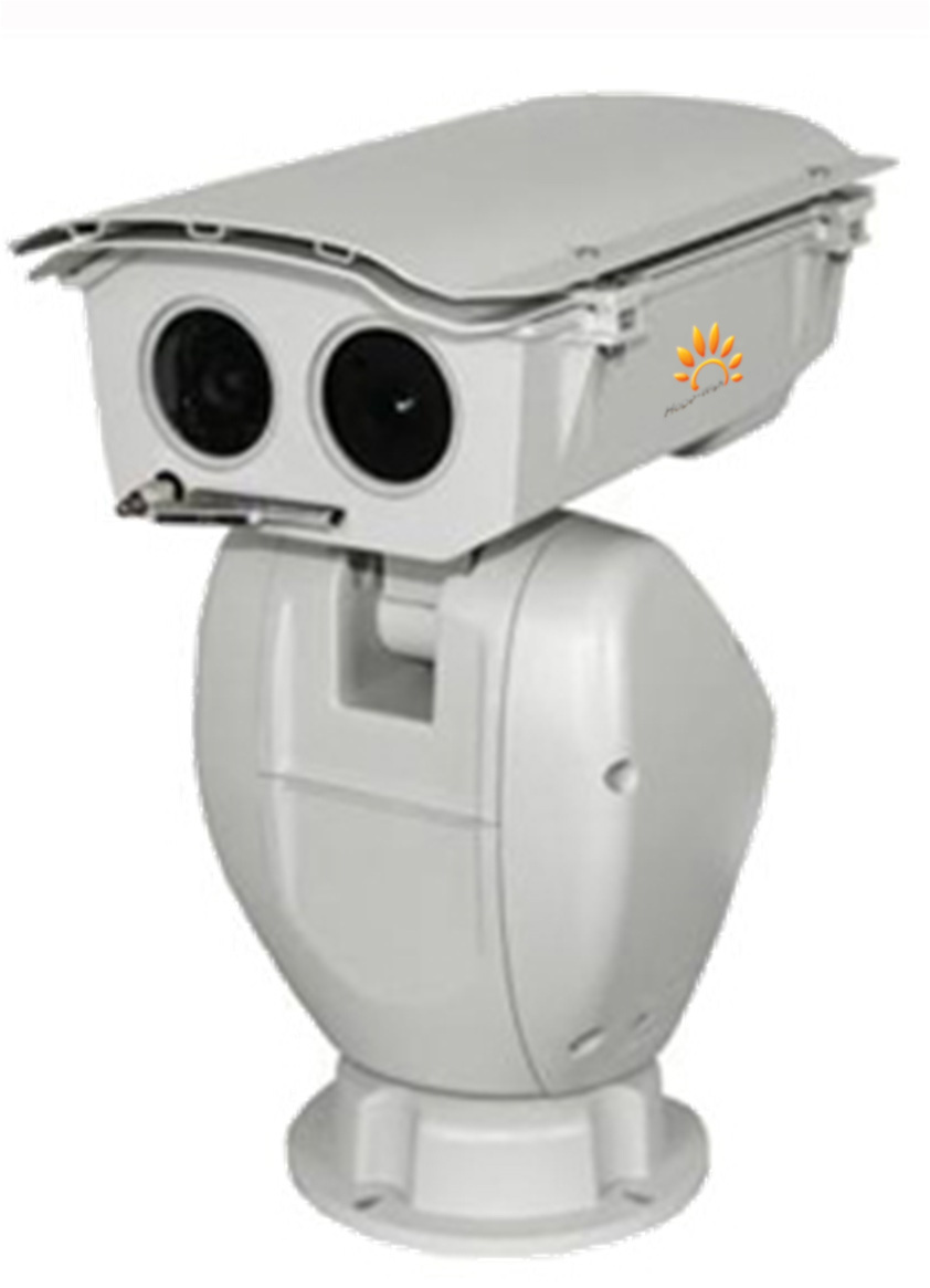 Dual Channel Temperature Detection Security Camera