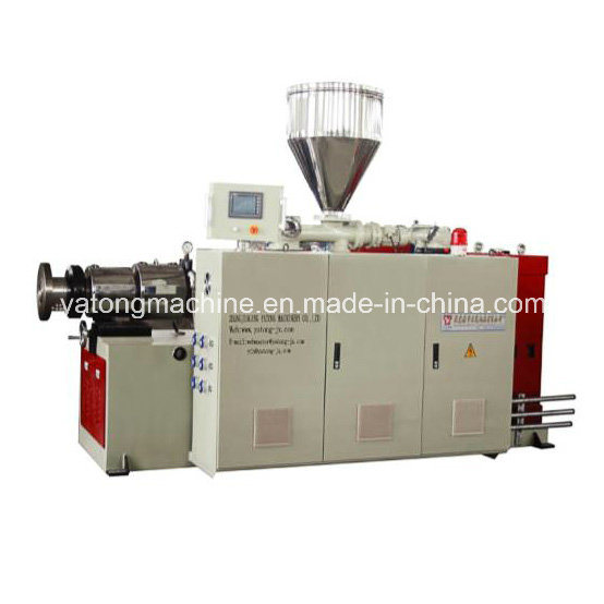Sjsz 65 Conical Double Screw Extruder