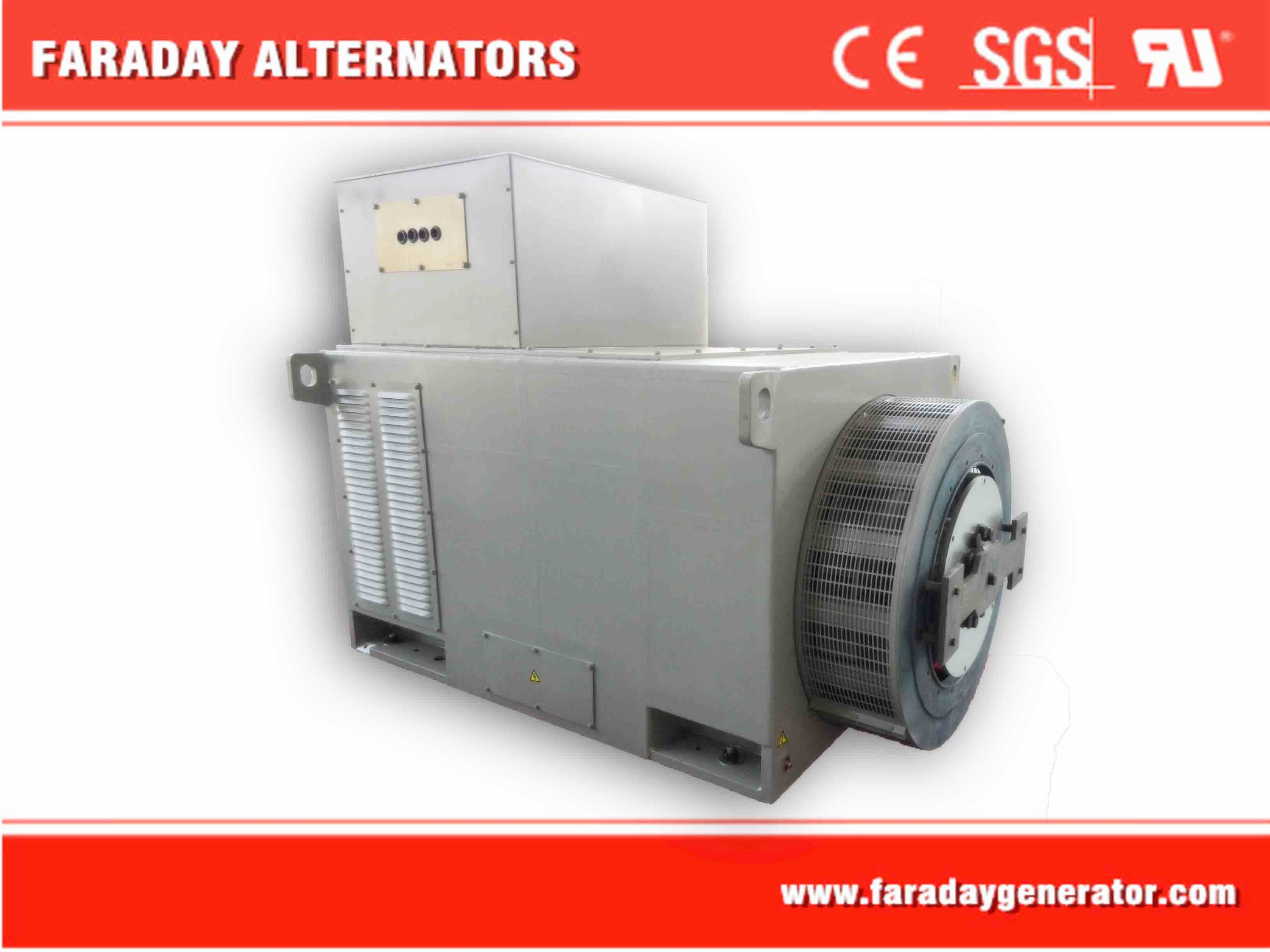 High Voltage 2000kw Brushless Alternator with Low Price