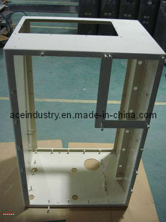 Metal Sheet Box with Bending Welding and CNC Machining Parts