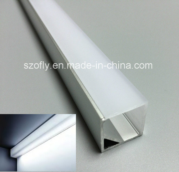 Square 16X16 LED Corner Aluminum Profile for Strip Light 3014 5050