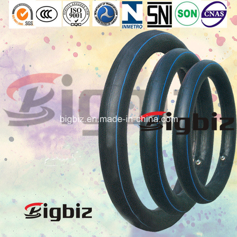 Popular Size Natural Rubber Motercycle Inner Tube of 3.25-18