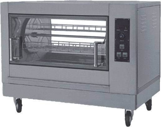 Commercial Electric/Gas Chicken Rotisserie Roaster (YB-268)