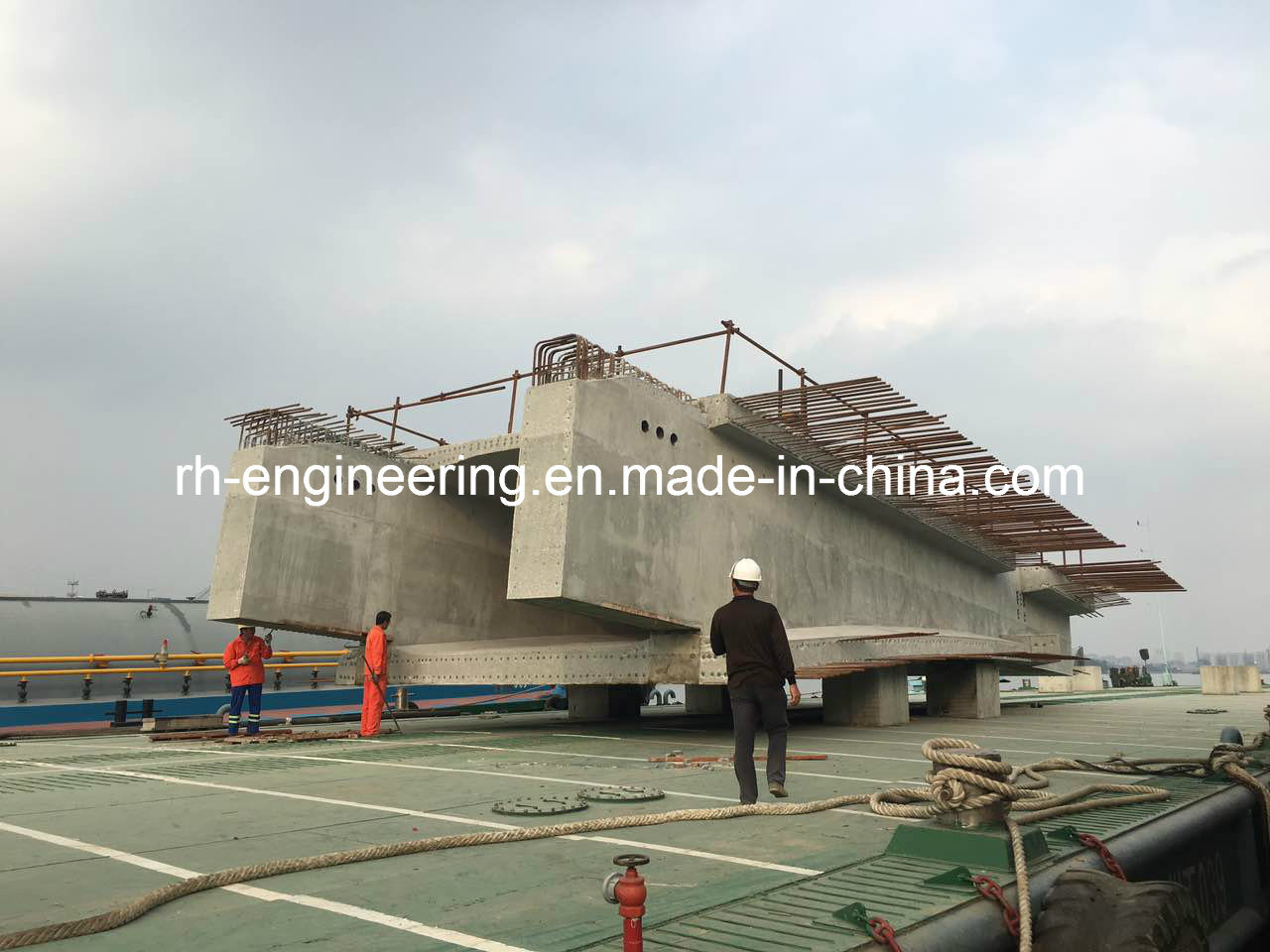 Steel Formwork for Concrete Bridge