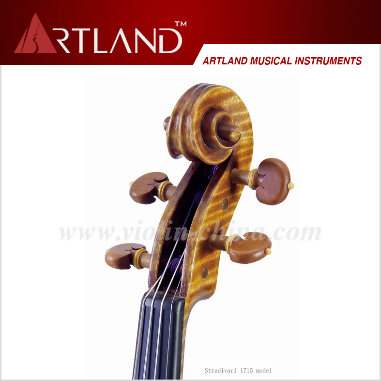 Stradivari 1715 Model Violin Solo Violin High Grade Antique Model Violin