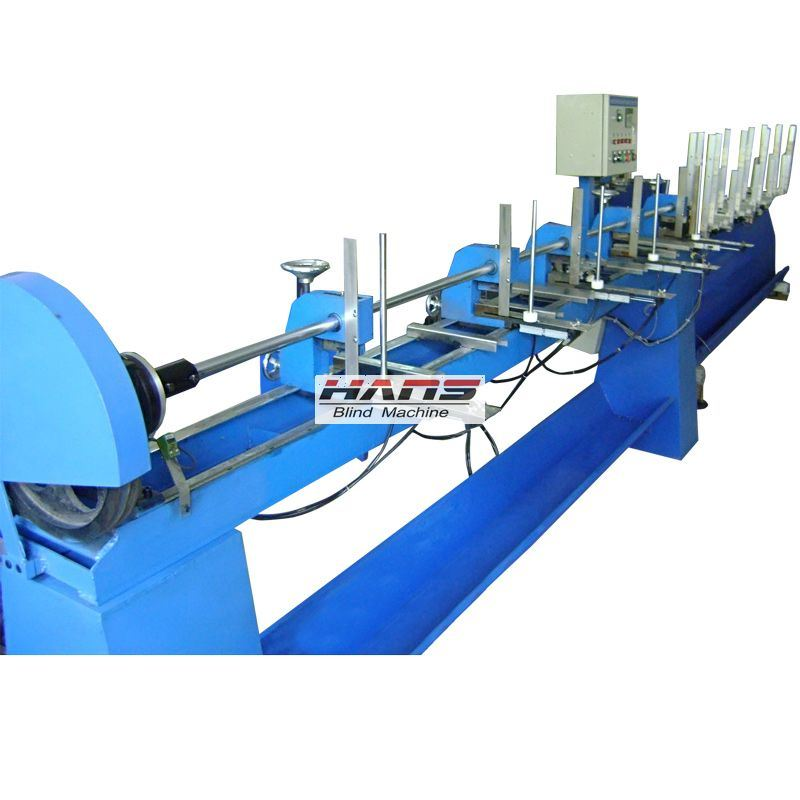 Automatic Wood Blind Slat Punching and Threading Machine