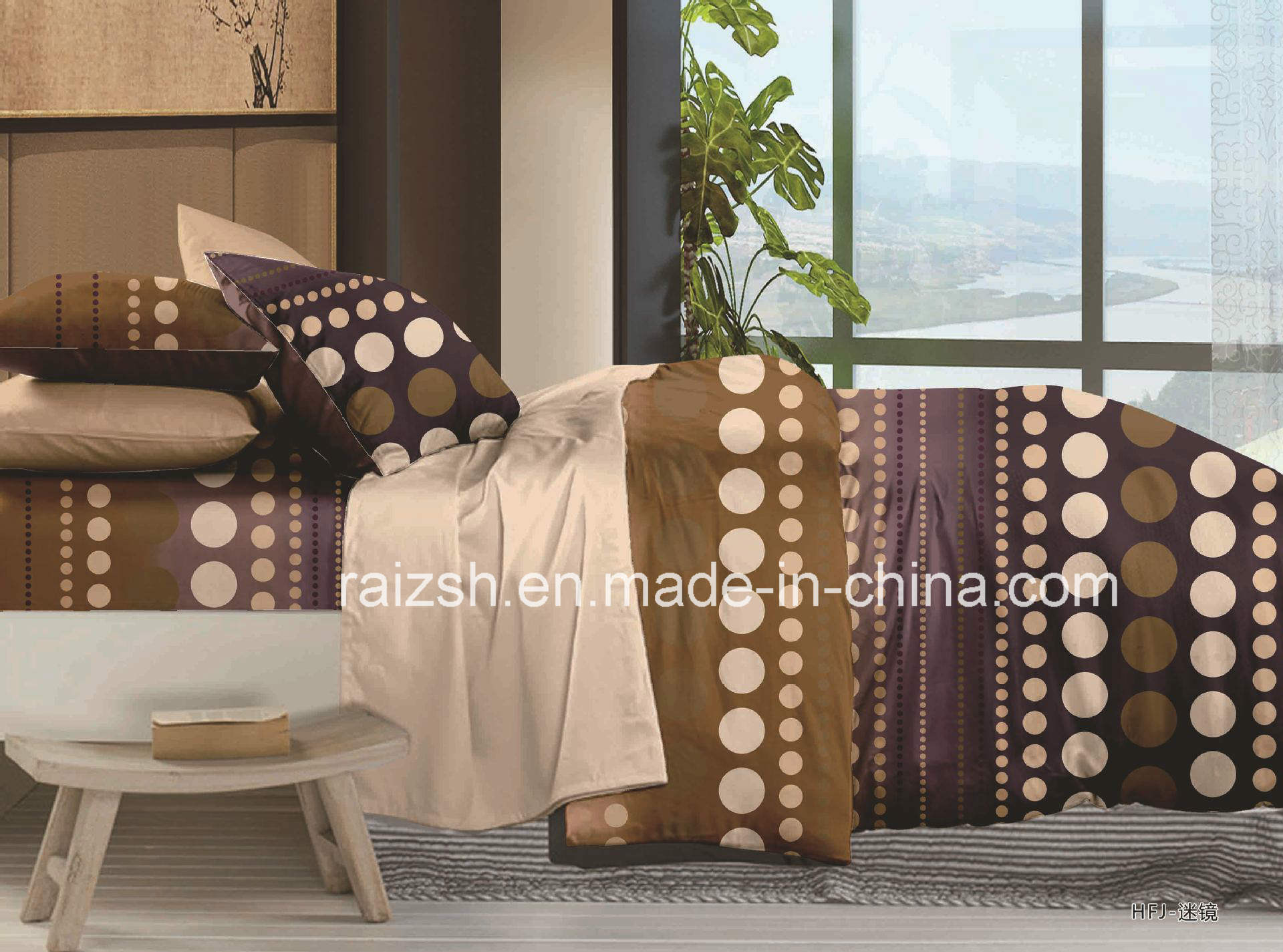 Polyester Reactive Dyeing for 4 PCS Bedding Sets
