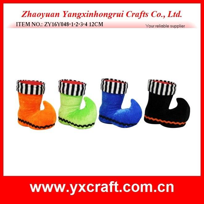 Halloween Decoration (ZY16Y048-1-2-3-4 12CM) Pleuche Halloween Product
