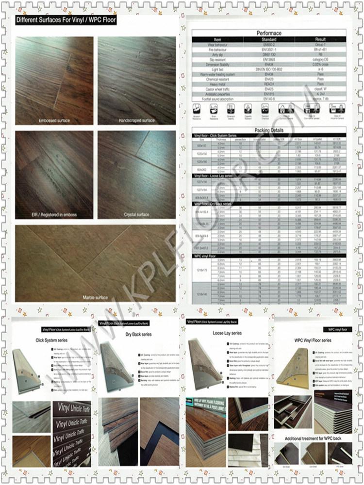Plastic Flooring Type and Indoor Usage Antistatic Vinyl Flooring