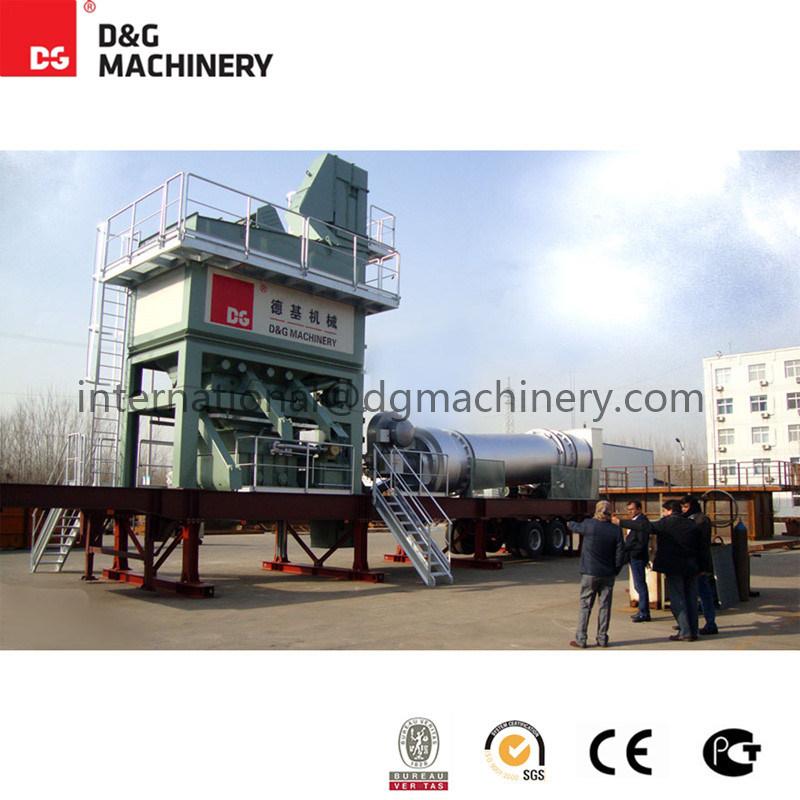 100 T/H-123t/H Portable&Mobile Asphalt Mixing Plant