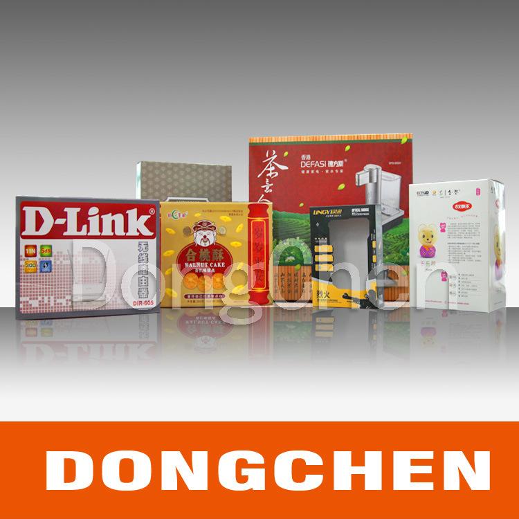 Printed Perfume Cosmetic Food Paper Gift Packaging Box
