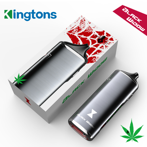 Best Portable Personal Dry Herb Vaporizer Black Widow Vaporizer with OEM/ODM Services