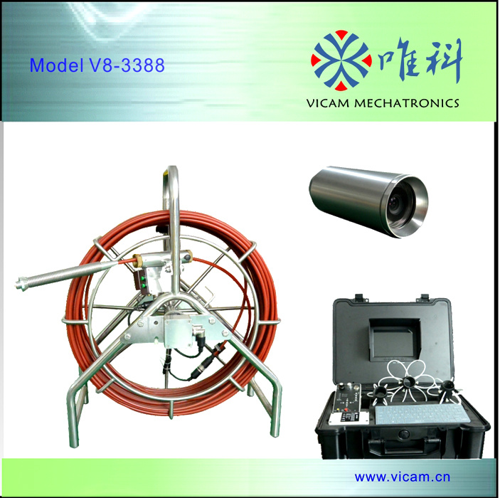 Heavy-Duty Video Inspection Camera System for Pipe/Sewer/Drain