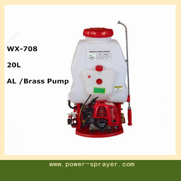 20L Gasoline Engine Knapsack Power Sprayer for Agriculture and Garden Wx-708