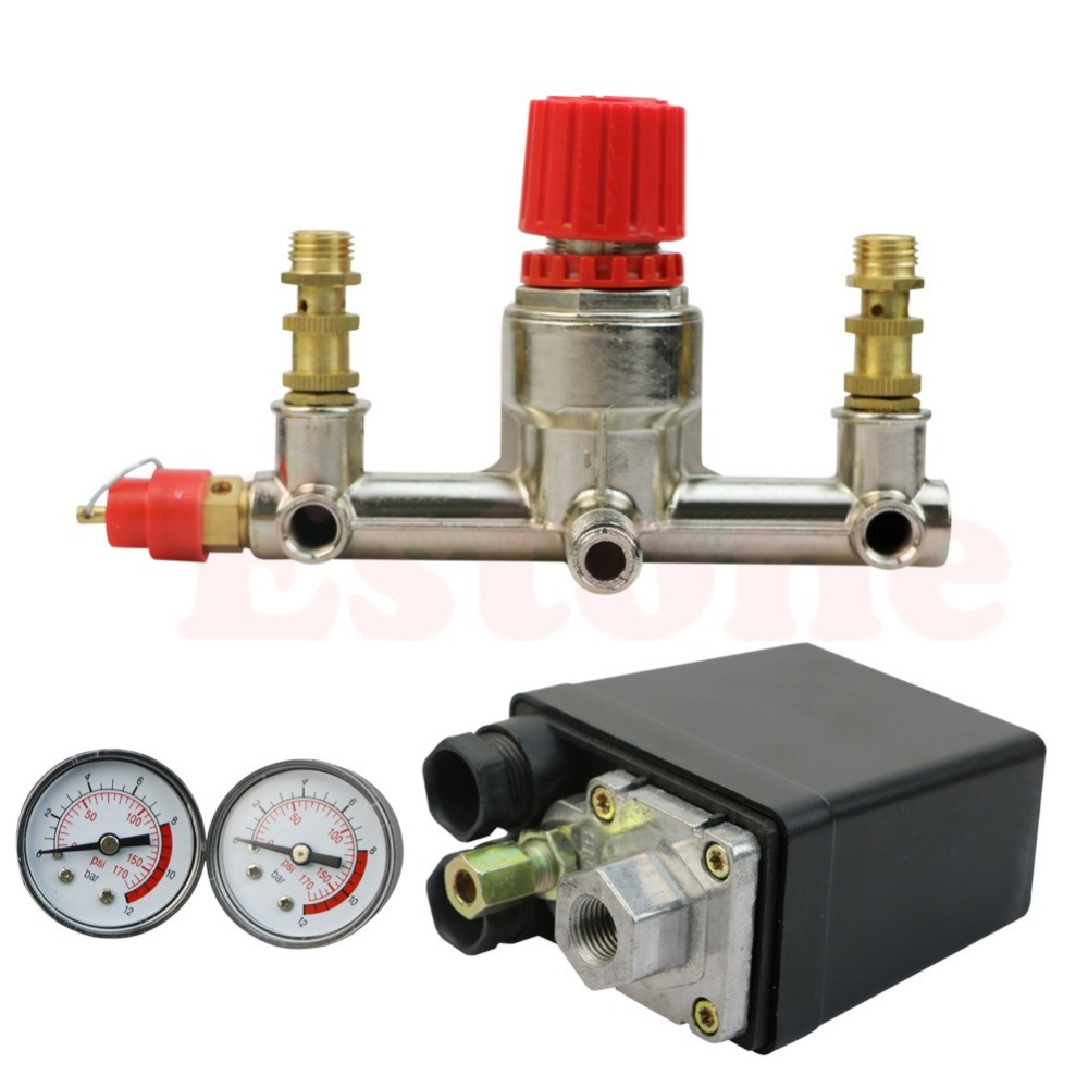 Compressor Parts Pressure Control Assembly Pressure Switch Regulator Holder
