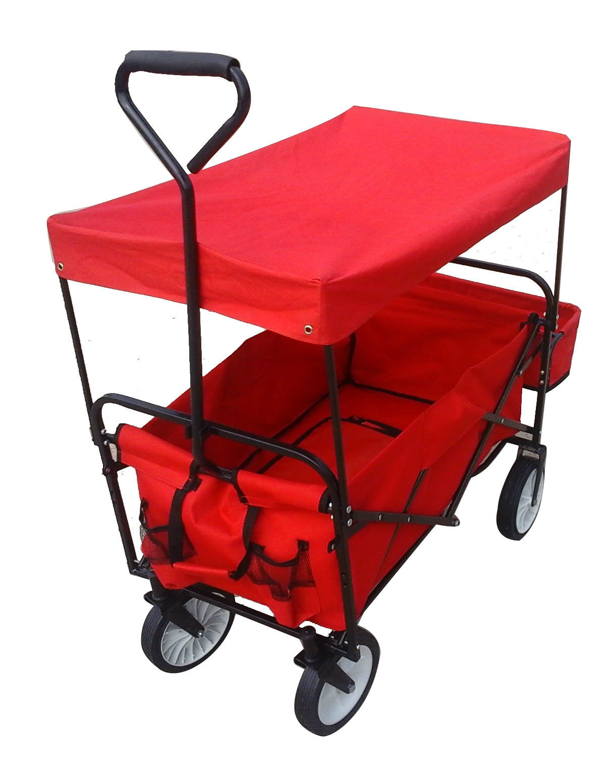 Factory Outlets Center Folding Metal Wheelbarrow Folding Trolley