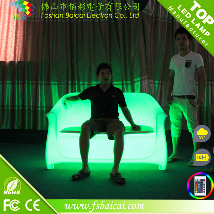 LED Double Sofa / LED Sofa for Bar (BCR-162S)