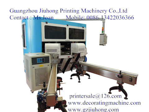 Screen Printing Machine for Glass & Plastic Bottle