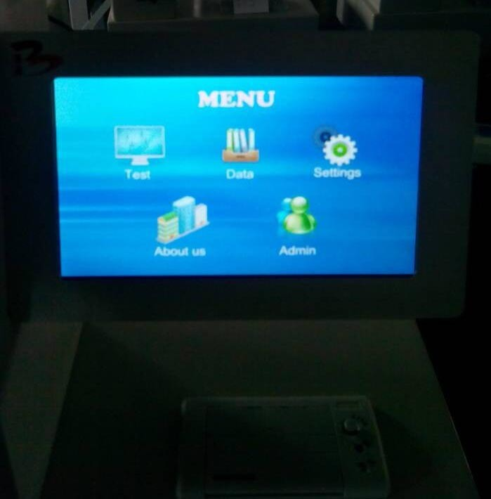 Touch-Screen Mit Folding Endurance Tester