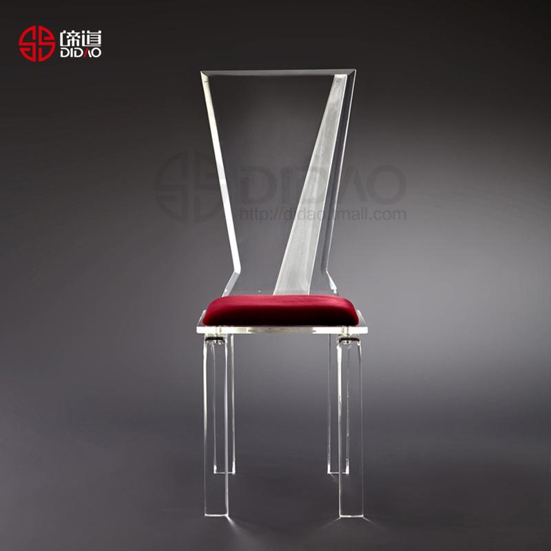 Silla de acr lico de la boda del led ac908 silla de for Sillas de acrilico