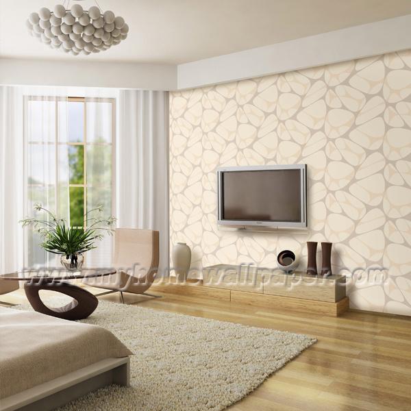 Salas De Tv Decoradas Con Papel De Parede ~ Papel de parede #020202 do vinil da decoração do fundo da sala de