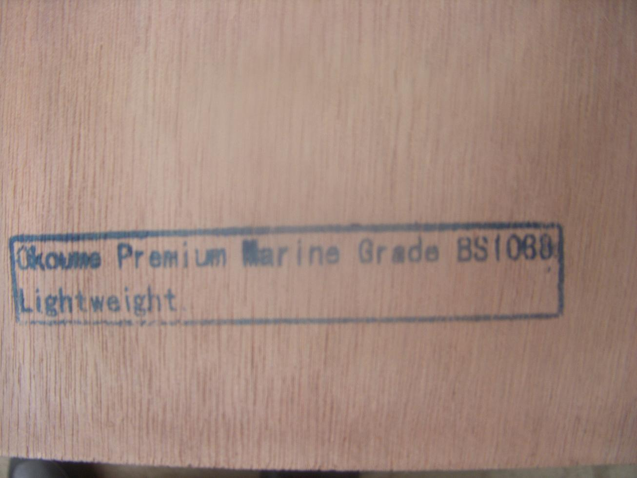 Marine Plywood BS1088 Certificated