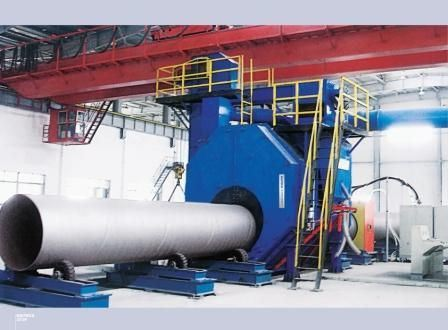 Steel Pipe and Bar Shot Blasting Machine