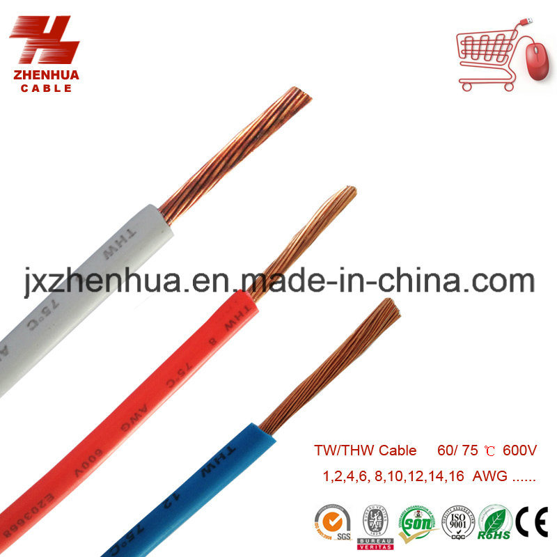 16AWG 18AWG Thw Cable