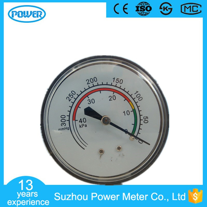 60mm High Quality Chrome Plated Bellows Manometer