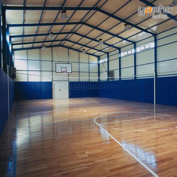Structure d 39 acciaio per sports gymnasium structure d for 3 costo del garage per metro quadrato