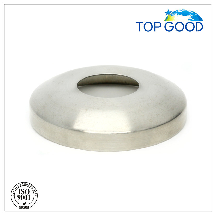 Stainless Steel Railing Round Base Cover