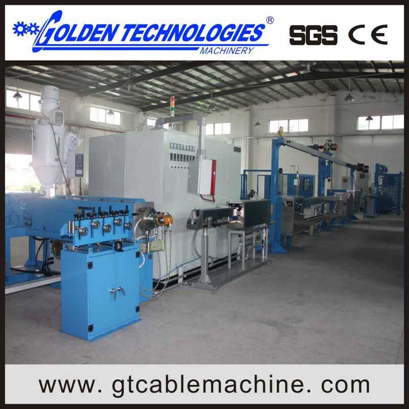 PVC Nylon Cable Extruder Machine