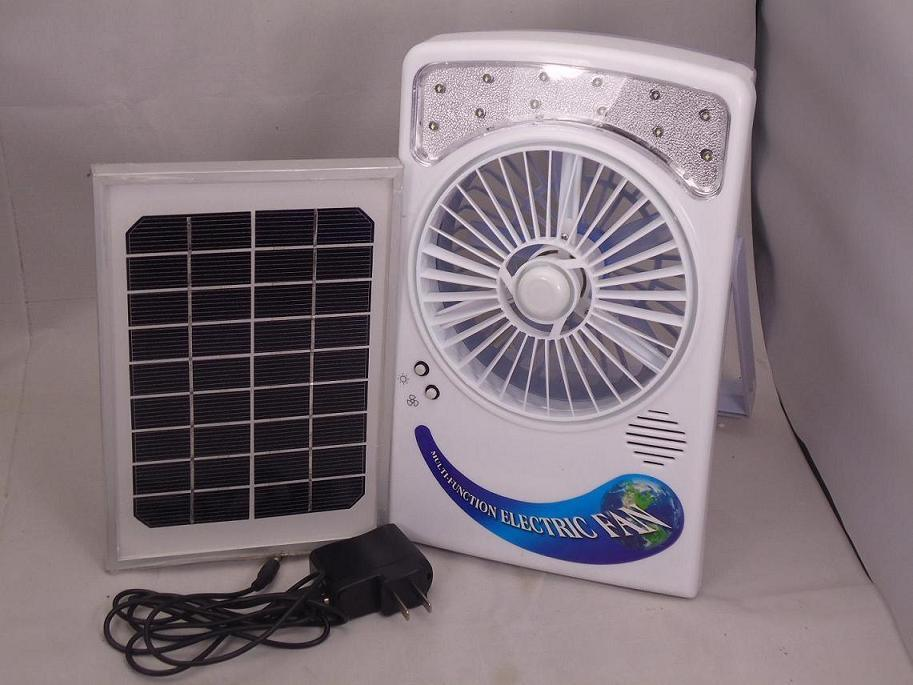 Solar Panel Fan : China solar electric fan with panel