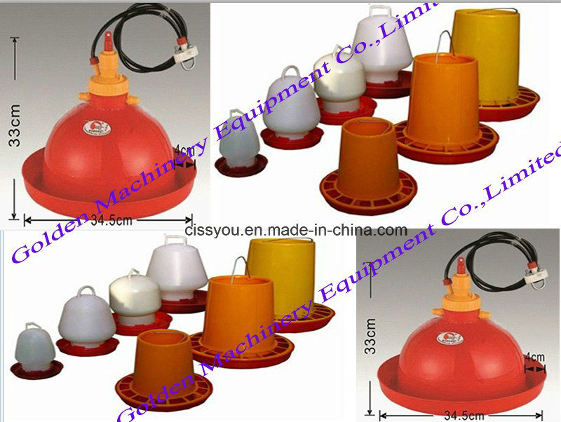 Plastic Poultry Chicken Drinker Feeder Water System Equipment