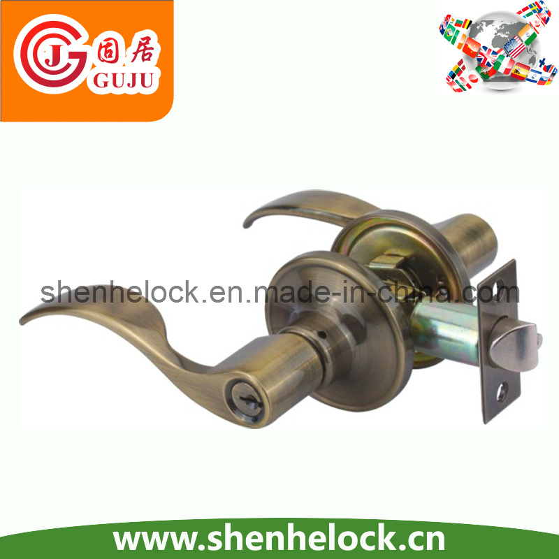Leverset Wood Handle Door Lock