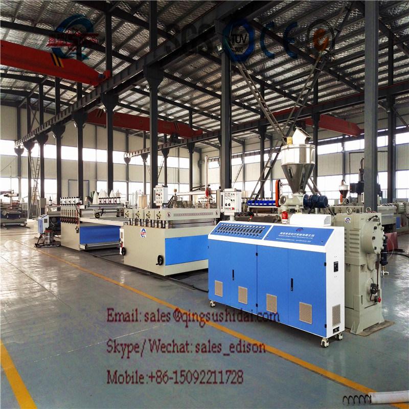 PVC WPC Foam Board Extrusion Machine