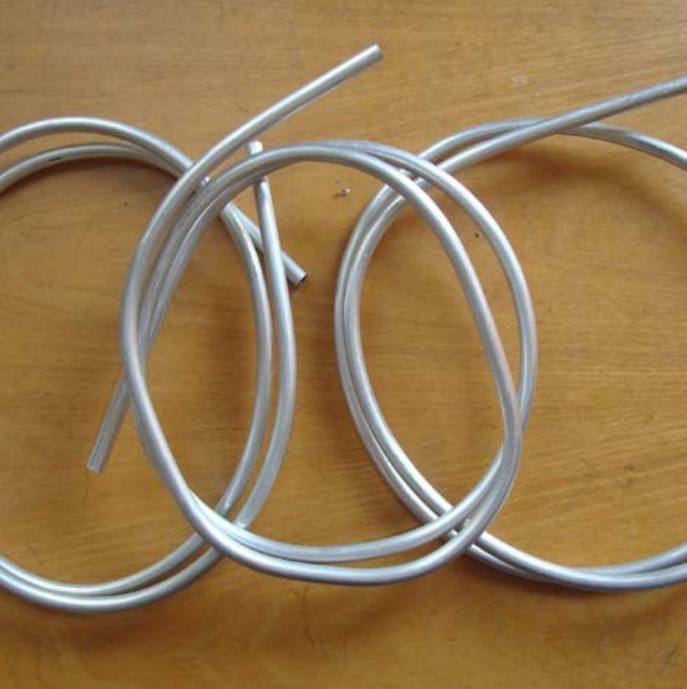 Aluminum tube small diameter