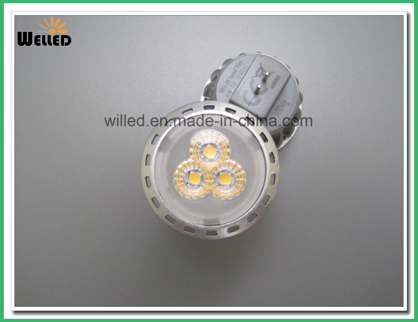 12V 10-30VDC Energy Saving MR11 LED Spotlight Spot Light 2W 4W Gu4.0