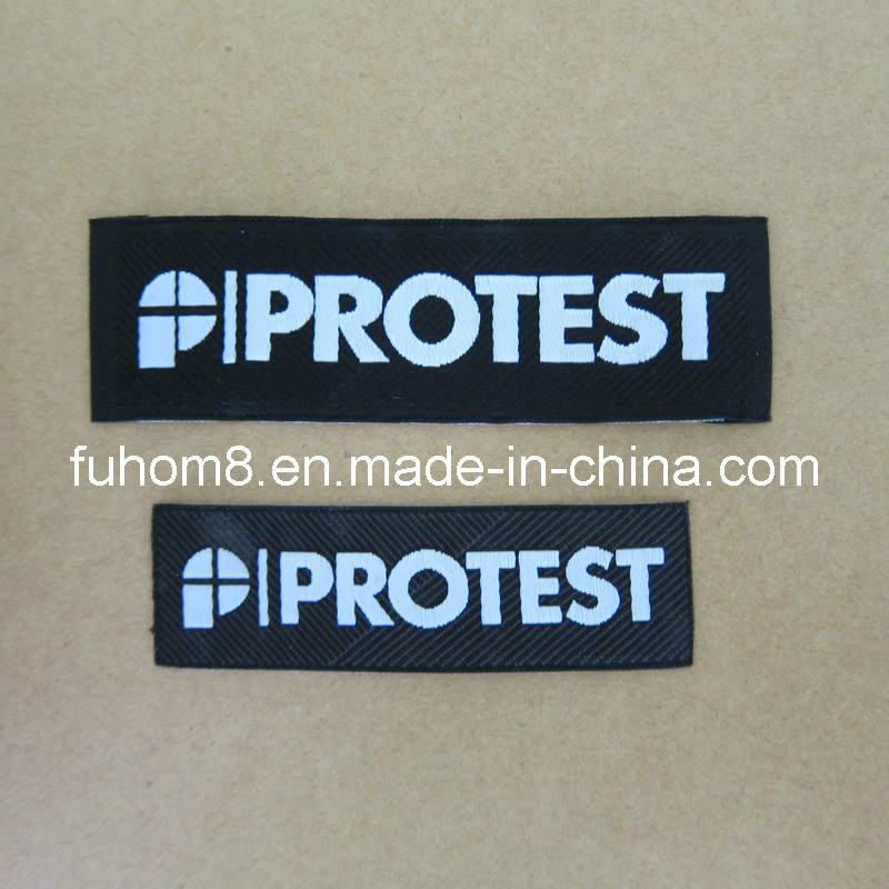 Custom High Quality Garment Main Woven Label