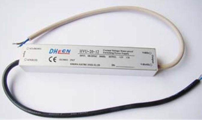 Single Output Waterproof Power Supply (HVH-20) 20W, 12VDC