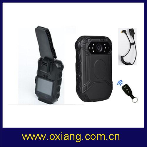 Waterptoof 1080P Police Body Worn Camera Support Renote Controller