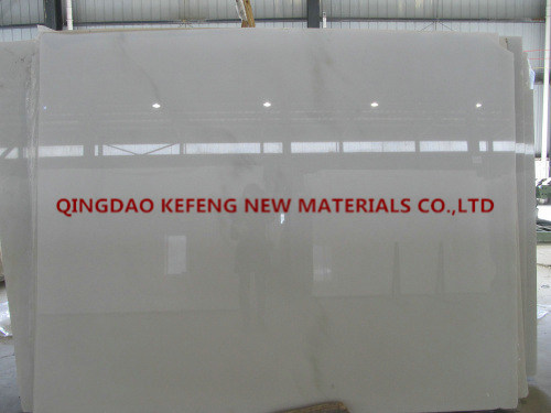 New Material White Marble Quarry, Chinese Marble Slab
