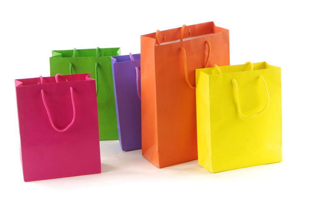 High Quality Art Paper Gift Bags for Garments (FLP-8910)