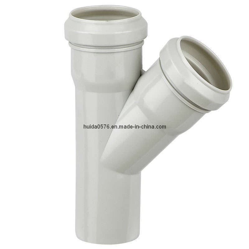 China pvc pipe fitting mould belling mm y shape