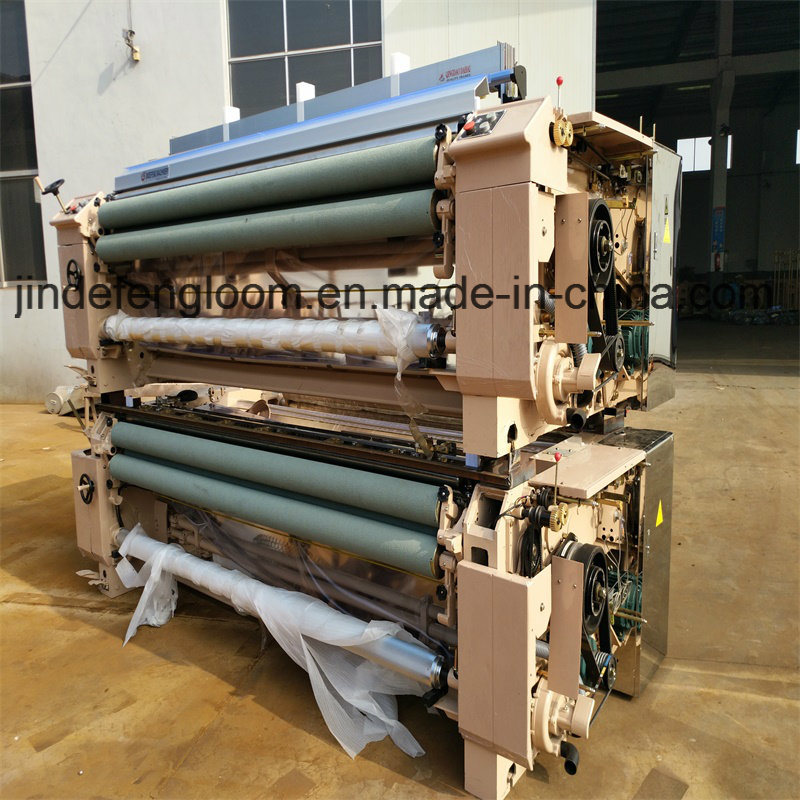 280cm Mechanical Nozzle Bed Sheet Plain Shedding Water Jet Loom